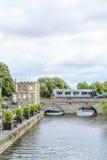 Stratford επάνω σε Avon, Ηνωμένο Βασίλειο - 12 Ιουλίου, γέφυρα άνω του Α Στοκ Εικόνες