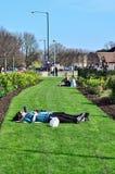 STRATFORD ΕΠΑΝΩ σε AVON, UK - 29 Μαρτίου 2014 - ένας δημοφιλής τουρίστας de στοκ φωτογραφία