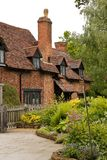 Stratford-upon-Avon. Cottage home of William Shakespeare's wife shottery Stratford-upon-Avon, Great Britain, England, UK, United Kingdom, EU Royalty Free Stock Image