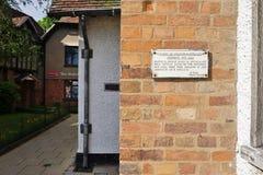 Stratford-upon-Avon, birthplace of Shakespeare Stock Photos