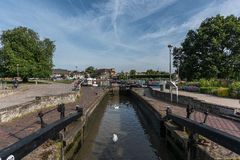 Stratford Upon Avon Canal Basin Royalty Free Stock Photography
