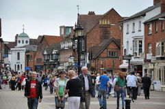Stratford-upon-Avon in England Stock Image