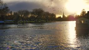 Stratford upon avon england uk stock footage