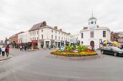 STRATFORD-UPON-AVON födelseorten av William Shakespeare Royaltyfria Foton