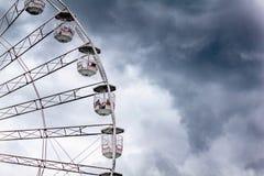 Stratford Upon Avon Ferris Wheel lizenzfreies stockfoto