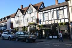 Stratford Upon Avon, Inglaterra Imágenes de archivo libres de regalías