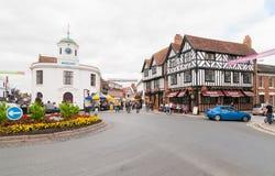 STRATFORD-UPON-AVON, le lieu de naissance de William Shakespeare Photo libre de droits