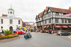 STRATFORD-UPON-AVON, o lugar de nascimento de William Shakespeare Foto de Stock Royalty Free