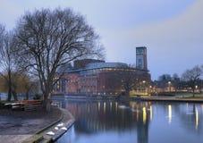 Stratford upon Avon theatre Royalty Free Stock Photo