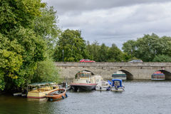 Stratford Upon Avon, United Kingdom - July 12, Bridge over the A Royalty Free Stock Images