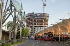 Stratford Bus Station, London Lizenzfreies Stockfoto
