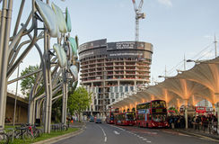 Stratford Bus Station, Londra Fotografia Stock Libera da Diritti