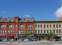 STRATFORD, CANADÁ, edificios victorianos Imagenes de archivo