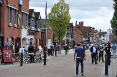 Stratford-em cima-Avon em Inglaterra Imagem de Stock