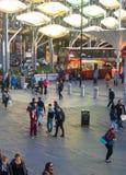 Stratford international train and tube station, london Stock Photos