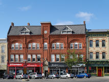 STRATFORD, KANADA, Wiktoriańscy budynki fotografia royalty free