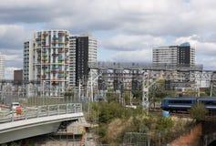 Stratford, Londres est Image stock
