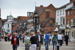Stratford-nach-Avon in England Stockbild
