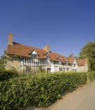 Stratford nach Avon Warwickshire England stockbilder