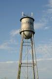 Stratford Oklahoma vattentorn fotografering för bildbyråer
