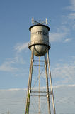 Stratford, Oklahoma Water Tower stock image