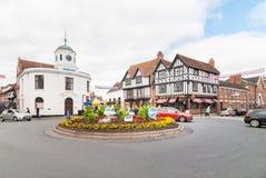 Stratford-op-AVON, de geboorteplaats van William Shakespeare Royalty-vrije Stock Fotografie