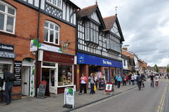 Stratford-op-Avon in Engeland Royalty-vrije Stock Fotografie