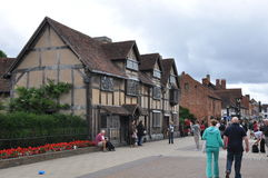 Stratford-op-Avon in Engeland Royalty-vrije Stock Afbeeldingen