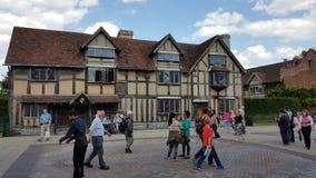 Stratford op Avon Shakespeare Royalty-vrije Stock Foto