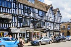 Stratford op Avon, Warwickshire, Engeland Royalty-vrije Stock Foto's