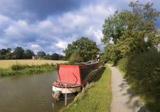 Stratford-på-Avon kanal Royaltyfri Fotografi