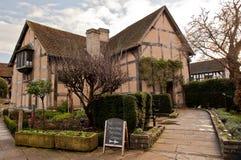 Stratford på avon warwickshire England Royaltyfria Bilder