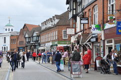 Stratford-på-Avon i England Royaltyfria Bilder