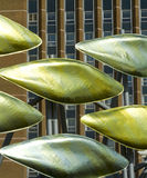 Stratford's public art installation The Shoal Stock Photography