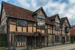 Stratford Shakespear royaltyfri fotografi