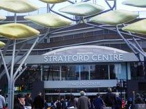 Stratford Shopping Centre Stock Image