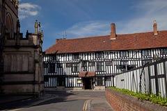 Stratford sobre Avon imágenes de archivo libres de regalías