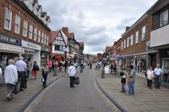 Stratford-sobre-Avon en Inglaterra Imagen de archivo libre de regalías