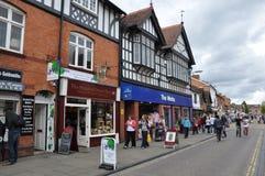 Stratford-sobre-Avon en Inglaterra Fotografía de archivo libre de regalías