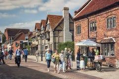Stratford sobre Avon, Reino Unido imágenes de archivo libres de regalías