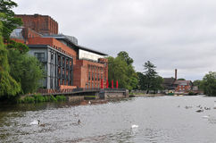 Stratford sobre el teatro de Avon Fotos de archivo libres de regalías