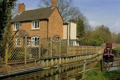 Stratford sobre warw del canal de avon Foto de archivo libre de regalías
