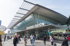 Stratford Station in London Stock Image