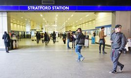 Stratford Station Royalty Free Stock Images