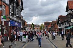 Stratford-sur-Avon en Angleterre Photos stock