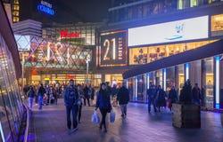 Stratford village shopping centre, London Royalty Free Stock Photography
