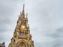Stratford zegarowy wierza Obrazy Royalty Free