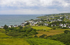 Strath, Gairloch,苏格兰 免版税库存照片