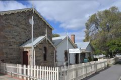Strathalbyn National Trust Museum Strathalbyn South Australia. National Trust Museum in Strathalbyn that was settled in 1839 by Scottish immigrants on land that royalty free stock images