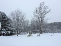 Stratham Snowday zdjęcia stock